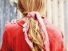 Bandanas para el pelo: coleta baja