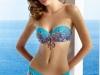 Bikinis Dolores Cortés 2016: modelo bandeau azul