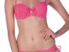 Bikinis Dolores Cortés 2016: modelo bandeau rosa