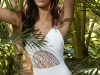 Bikinis Women'Secret 2016: Natural Paradise modelo bañador blanco