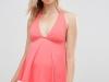 Bikinis y bañadores para embarazadas 2016: ASOS tankini rosa
