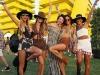 Coachella 2016 famosos en Instagram: Alessandra Ambrosio con amigas