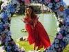 Coachella 2016 famosos en Instagram: Alessandra Ambrosio con flores