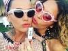 Coachella 2016 famosos en Instagram: Katy Perry con una amiga