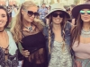 Coachella 2016 famosos en Instagram: Paris Hilton