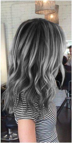 Color de pelo verano 2016 tonos cool plata