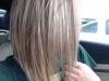 Corte de pelo long bob: liso