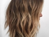 Corte de pelo long bob: ondulado balayage
