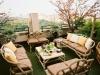 Decoración de terrazas y patios: hamacas y sillones
