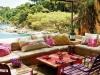 Decoración de terrazas y patios: mesa baja