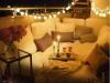 Decoración de terrazas y patios: sillón cama