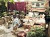 Decoración de terrazas y patios: bohemio