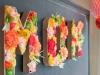 Decoración del Día de la Madre: montaje de flores