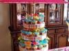 Decoración para una fiesta de cumpleaños en la piscina: cupcakes