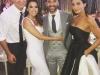 Eva Longoria y Pepe Bastón boda en México: Mario López y su mujer con los novios