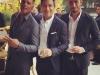 Eva Longoria y Pepe Bastón boda en México: Mario López con Ricky Martin