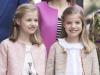 Familia Real en la Misa de Pascua en Mallorca 2016: Princesa Leonor y la Infanta Sofía