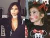 Famosos de pequeños: Kim Kardashian
