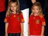 Infanta Sofía: 2010 con la Selección Española