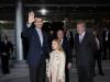 La Infanta Sofía y el Rey Felipe en el Santiago Bernabéu: llegada con Florentino Pérez