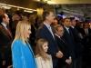 La Infanta Sofía y el Rey Felipe en el Santiago Bernabéu: en el palco con Cristina Cifuentes