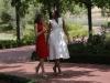 La Reina Letizia y Michelle Obama en Madrid: caminando