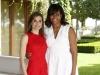 La Reina Letizia y Michelle Obama en Madrid: portada