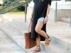 Looks para embarazadas de primavera: shorts con camiseta
