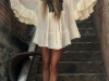 Looks de festival 2016: blusón blanco
