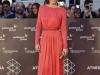 Malú en la presentación de su documental en el Festival de Málaga 2016: alfombra roja look rojo