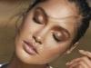 Maquillaje sunkissed: brillo en labios y sombras