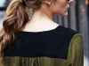 Peinados para invitadas de Comunión: coleta