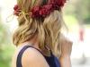 Peinados para invitadas de Comunión: melena con corona