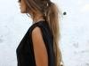 Peinados effortless: look con coleta