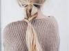 Peinados effortless: look con trenza mitad