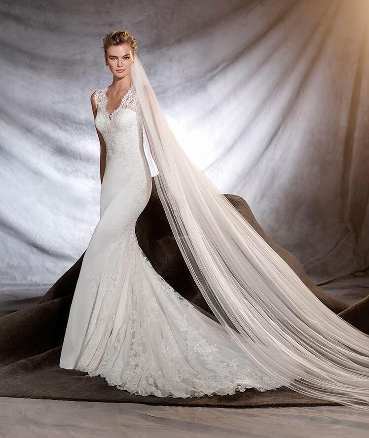 vestidos de novia ibicencos pronovias – vestidos baratos