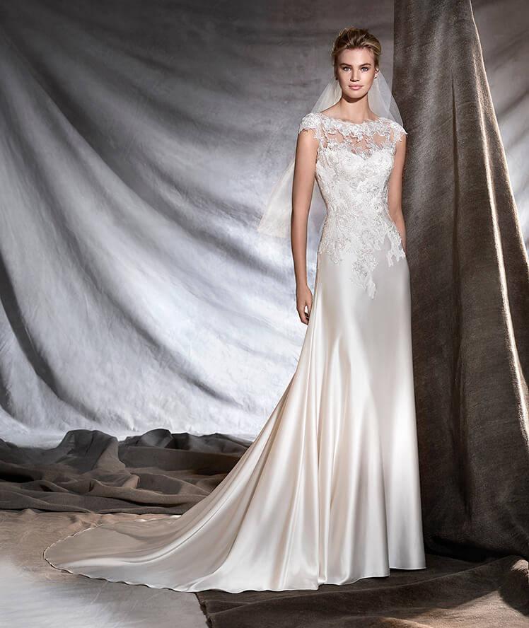Imagenes de modelos con vestidos de novia