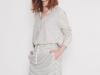 Rayas navy looks: Slow Love camisa y falda