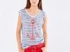 Rayas navy looks: Slow Love camiseta ancla