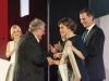 Reina Letizia look 40 aniversario de El País: entrega Premio Ortega y Gasser a Adam Michnik