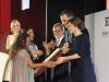 Reina Letizia look 40 aniversario de El País: entrega Premio Ortega y Gasser a Lilia Saúl y Ginna Morelo