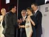 Reina Letizia look 40 aniversario de El País: entrega Premio Ortega y Gasser a Samuel Aranda