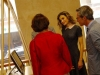 Reina Letizia look baby doll: escuchando