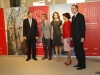 Reina Letizia look baby doll: inauguración