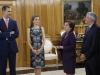 Reina Letizia look de Hugo Boss: acto
