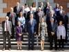 Reina Letizia look de Hugo Boss: posado con la Asociación de Prensa de Madrid