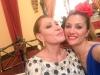 Rosa Benito y Gloria Camila en la Feria de Abril 2016: Rosa Benito y Nagore Robles