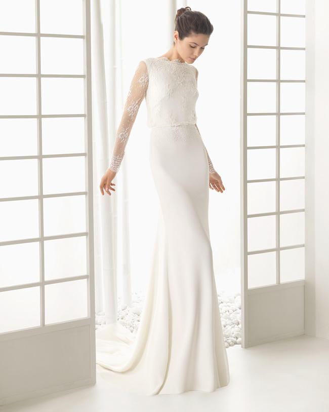 rosa clará vestidos de novia 2016: colección de ensueño [fotos