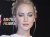 Rubio platino color de pelo 2016: Jennifer Lawrence recogido