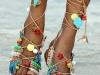 Sandalias étnicas 2016: Fetiche Suances Gladiadoras